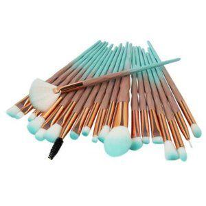 NEW 20pc Diamond Pro Makeup Brush Set